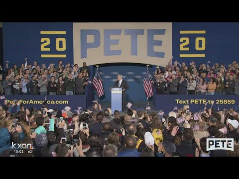 Mayor Adler endorses, introduces Pete Buttigieg at 2020 campaign launch event