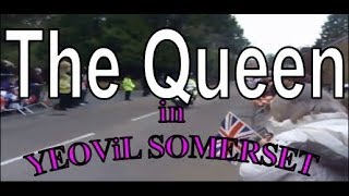 Yeovil United Kingdom  City pictures : The Queen visits Yeovil Somerset United Kingdom