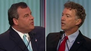 Chris Christie, Rand Paul spar over NSA | Fox News Republican Debate