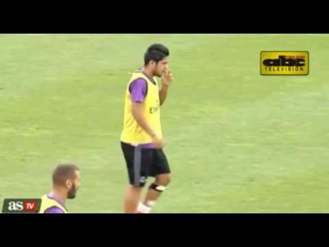 Golazo de Díaz en práctica de Real Madrid