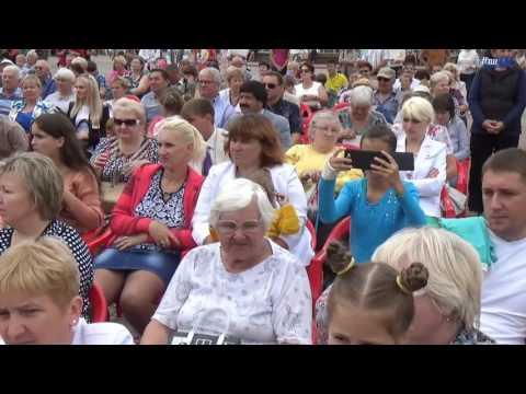 Поздравления от районной власти и делегатов городов-партнеров по случаю Дня освобождения района и 1011-летия Волковыска