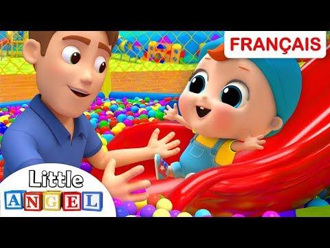 Bébé Louis au Parc de Jeux pour Enfants   Comptines et Chansons pour les Petit