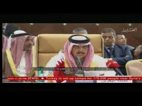 وزير الداخلية يترأس وفد مملكة البحرين في اجتماعات الدورة (35)لمجلس وزراء الداخلية العرب(النسخة الإنجليزية)2018/3/7