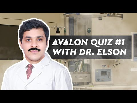 Avalon Quiz #1 With Dr. Elson!