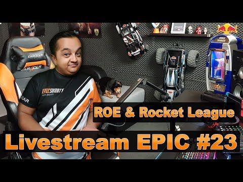 Livestream Epic #23 - Ring of Elysium si ROCKET LEAGUE !