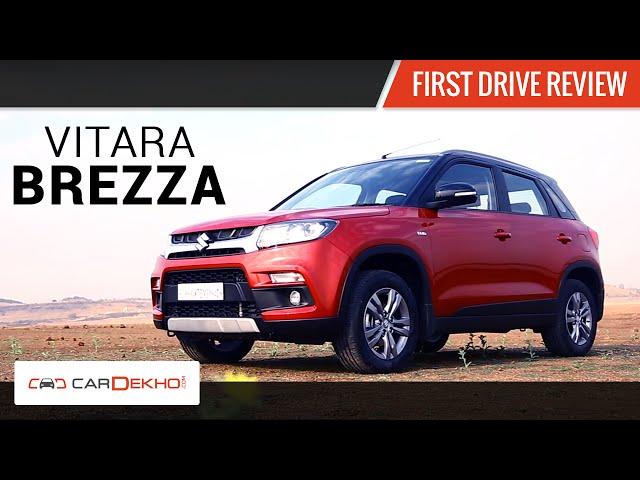 Maruti Suzuki Vitara Brezza First Drive Review