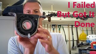 Video www.dirtyshirt.info: Challenges With Installing a Drive Shaft Center Bearing MP3, 3GP, MP4, WEBM, AVI, FLV Juni 2018