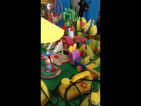 Video triển lãm đồ dùng đồ chơi được làm từ nguyên liệu sẵn có tại địa phương chào mừng ngày Nhà giáo Việt Nam 20/11