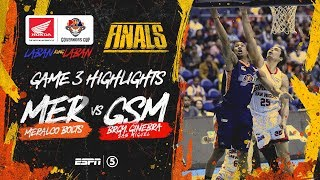 Highlights: G3: Meralco vs Ginebra   PBA Governors' Cup 2019 Finals