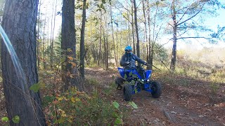 10. 2019 Yamaha Raptor 700r- Ripping some trails