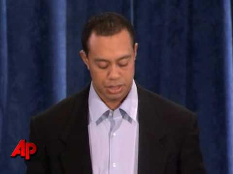 "Tiger Woods: ""Elin Never Hit Me"""