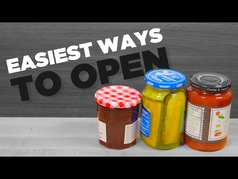 3 Easiest Ways to a Open Stubborn Jar | Easy Life Hacks