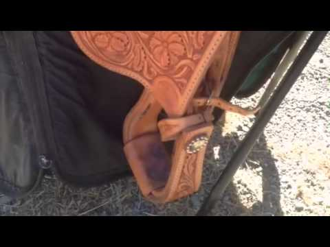 Bob's Show Saddle for Sale - Tons of Silver, Almost NEW!