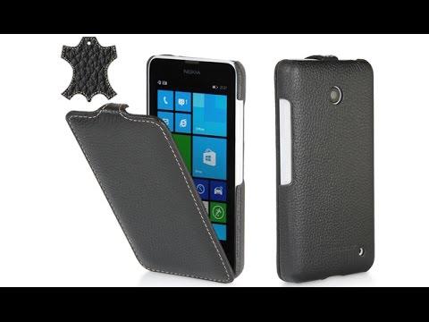 Handytasche für Nokia Lumia 630 aus Leder von StilGut