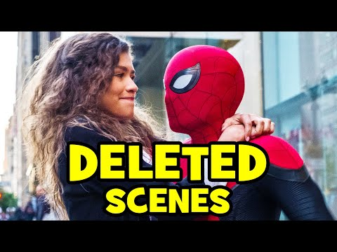 SPIDER-MAN FAR FROM HOME Deleted Scenes & Alternate Ending