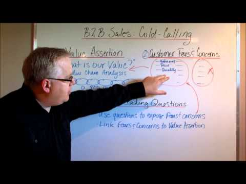 Watch 'B2B Sales Cold Calling: Three Simple Steps'