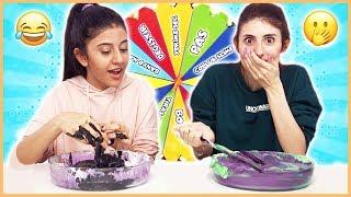 Çarkıfelekten Ne Çıkarsa Slime Challenge Kötü Malzemeli Slaym Eğlenceli Çocuk Videosu Dila Kent