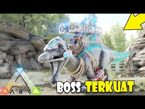 BOSS TERKUAT BOISS - ARK The Island Modded Indonesia #8