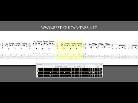 Inception – Time – Guitar Solo (sheet music and tabs)