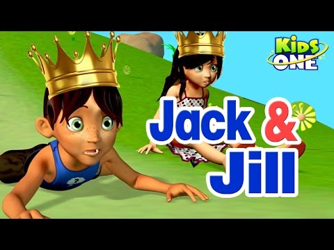 Jack and Jill || 3D Animation || Nursery Rhyme