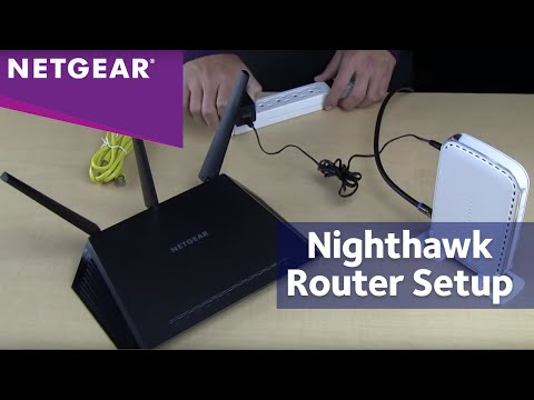 How to Install Your NETGEAR Nighthawk Wireless Router (R7000)