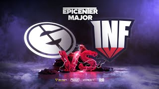 Evil Geniuses vs Infamous, EPICENTER Major, bo3, game 1 [Adekvat & Mortalles]