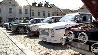 Setkání historických vozidel v Mohelnici