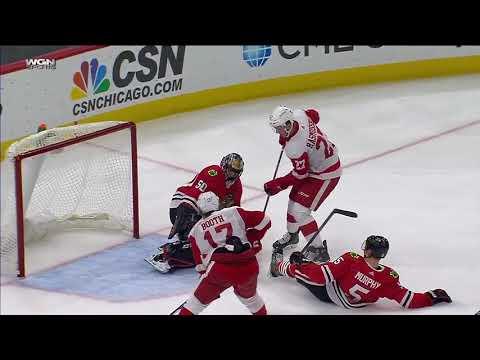 Обзор матча Чикаго - Детройт / BLACKHAWKS VS RED WINGS September 21 2017 NHL Preseason