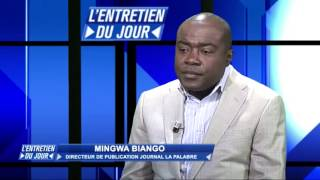 MINGWA BIANGO DANS L'ENTRETIEN DU JOUR DE TÉLÉSUD