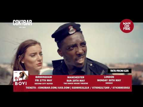 Bovi the Negotiator - @officialBovi  UK Tour .. Get  your tkts guys - Cokobar.com