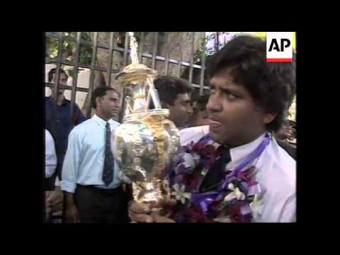 Sri Lanka and India share 2002 ICC Champions Trophy