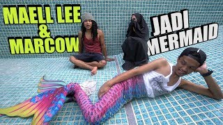 Download Video MAELL LEE & MARCOW JADI MERMAID SEHARIAN! Mermaid Terkuat Di Bumi😱 MP3 3GP MP4