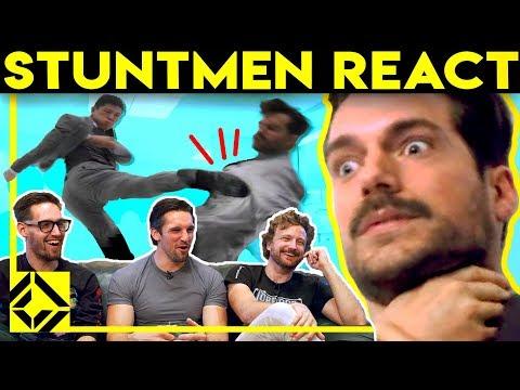 Stuntmen React To Bad & Great Hollywood Stunts