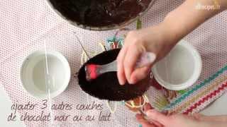 Comment faire des œufs en chocolat