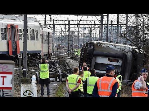 Βρυξέλλες: Ένας νεκρός από εκτροχιασμό τρένου