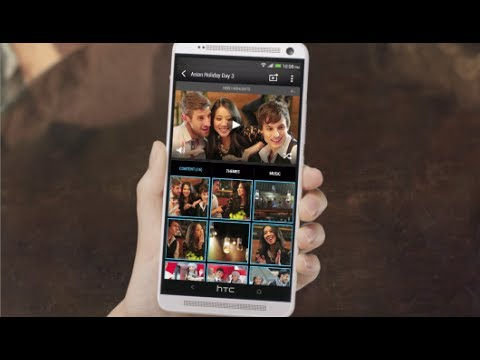 HTC One max (Sense 5.5) - Instantly create and share events with Video Highlights