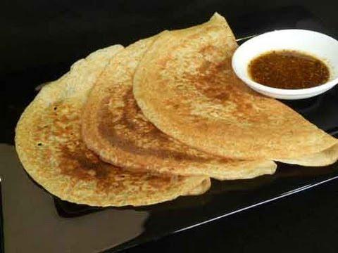 Oats Dosa Indian Recipe - Healthy Dosai