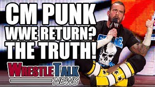 CM Punk WWE return? Luke Owen digs around behind the rumors in this WrestleTalk News July 2017.Subscribe to WrestleTalk for daily WWE and wrestling news! https://goo.gl/WfYA12Support WrestleTalk on Patreon here! http://goo.gl/2yuJpoCM Punk WWE return, via Wrestling Observer Newsletter - http://members.f4wonline.com/wrestling-observer-newsletter/july-3-2017-wrestling-observer-newsletter-summerslam-plans-change-codyCM Punk talks wrestling return and UFC, via FOX - https://www.youtube.com/watch?v=snshzzKBZ98Vince McMahon has sent inquiries to CM Punk about WWE return, via Wrestling News World - http://www.wrestlingnewsworld.com/toms-tidings-vince-mcmahon-pursuing-3-former-talents-return/Subscribe to the WrestleTalk Podcast Network on iTunes: https://goo.gl/783yg4Catch us on Facebook at: http://www.facebook.com/WrestleTalkTVFollow us on Twitter at: http://www.twitter.com/WrestleTalk_TV