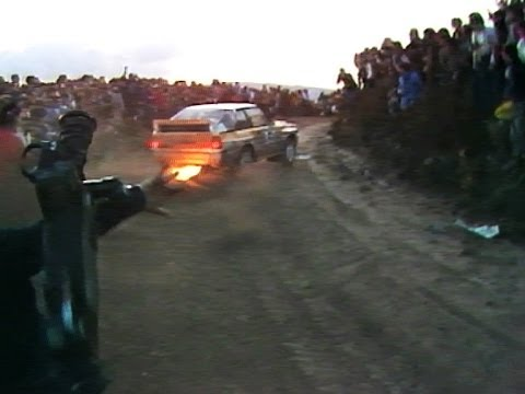 Group B Audi Quattro hits cameraman