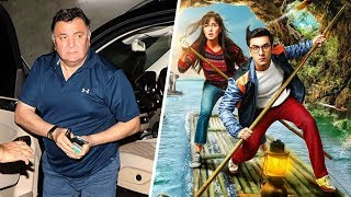Rishi Kapoor Review On Jagga Jasoos.Click this below link and subscribe to our channel to get all updates on Bollywood Movies, and your favorite Bollywood actresses and actors.http://goo.gl/cfijvC