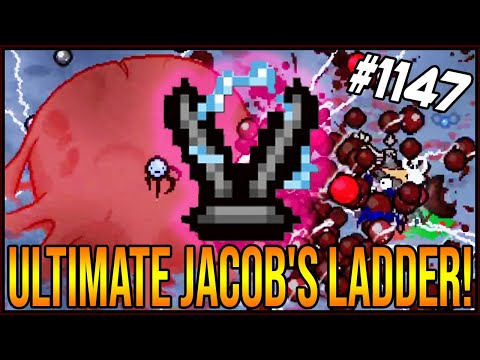 ULTIMATE JACOB'S LADDER! - The Binding Of Isaac: Afterbirth+ #1147
