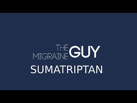 The Migraine Guy - Sumatriptan