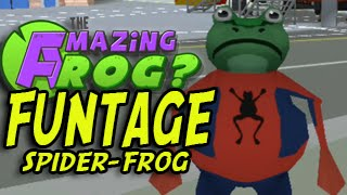 The Amazing Frog: Spider Frog (Funny Moments, Funtage) OUYA