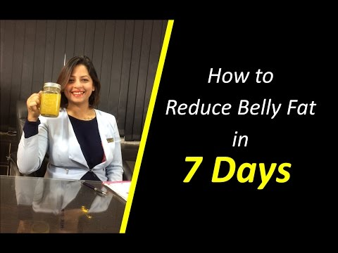 How to reduce belly fat in 7 days: A magic recipe -Dietitian Shreya
