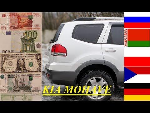 Сколько стоит съездить на машине в Европу (Киа Мохав)
