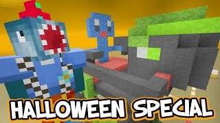 Minecraft Xbox - HALLOWEEN SPECIAL!! - Building Time! [#58]