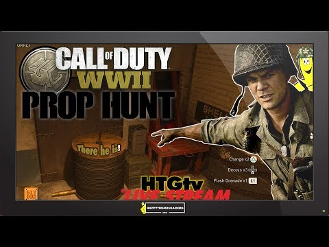 Call of Duty WWII: Prop Hunt and More! (10-10-18) - HTGtv