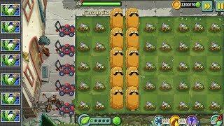 Plants Vs Zombies 2 Apio Furtivo Vs Zombies Pirata y DeportistasEn esta fiesta de piñata solo aparecen 2 plantas y aunque hay una tercera planta, todo el trabajo lo hace apio furtivo con nuez cascarabias ya que son las dos plantas que se encargan de derrotar a los zombies voladores, all star, explorador, protector y lector de periódico, puede que la nuez no haga nada pero evita que los zombies no pisen las flore y el nivel no se vuelva a repetir.