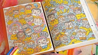 New Urban Sketchbook - Kawaii Doodles by Garbi KW