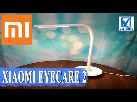 Обзор Xiaomi Philips EyeCare 2 умная настольная LED лампа, стильная и яркая